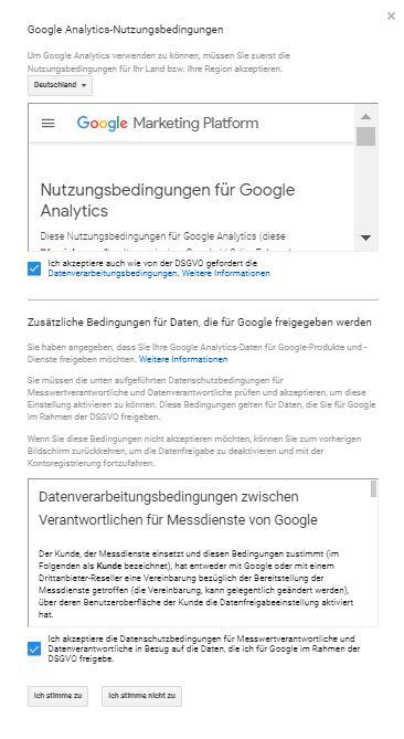 Wordpress installieren: WordPress installieren Google Analytics 5