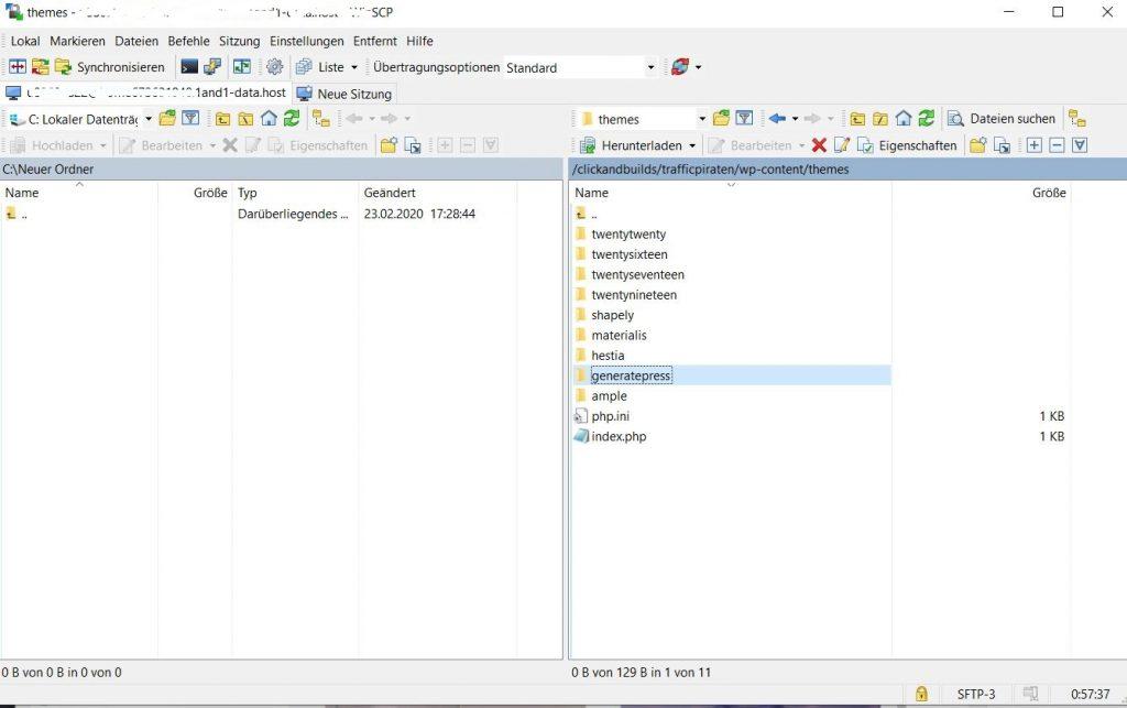 WordPress-Themes: wordpress blog theme installieren 3