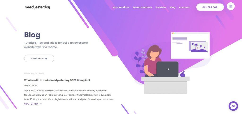 WordPress-Themes: wordpress blog theme installieren divi