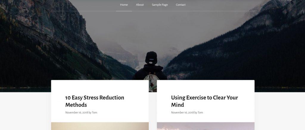 WordPress-Themes: wordpress blog theme installieren generatepress