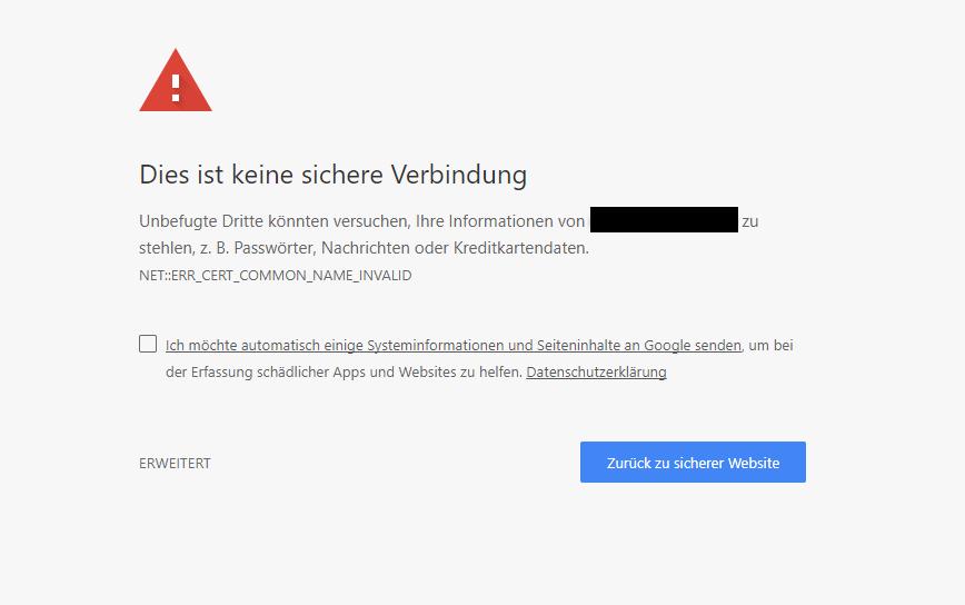wordpress seo: SSL Fehler