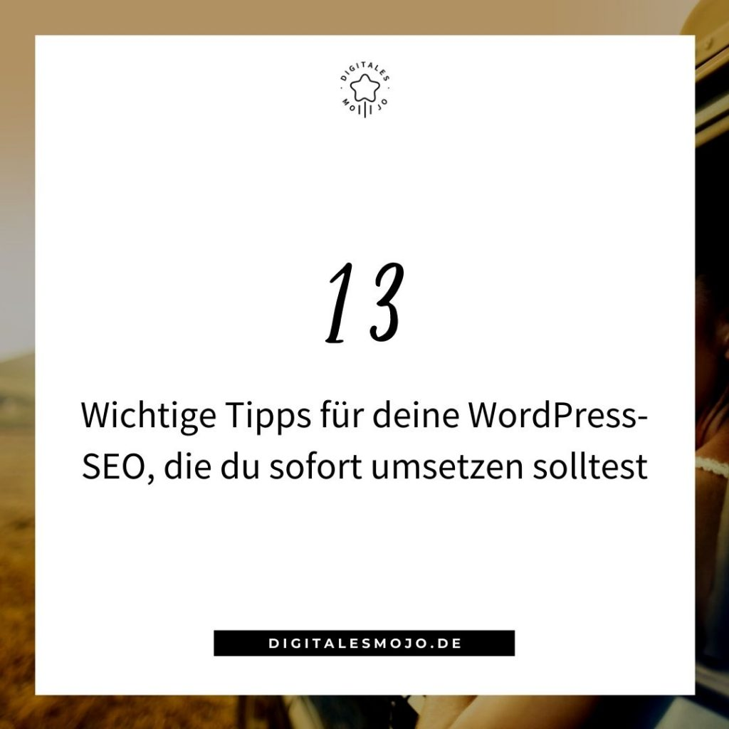 WordPress lernen: WordPress SEO