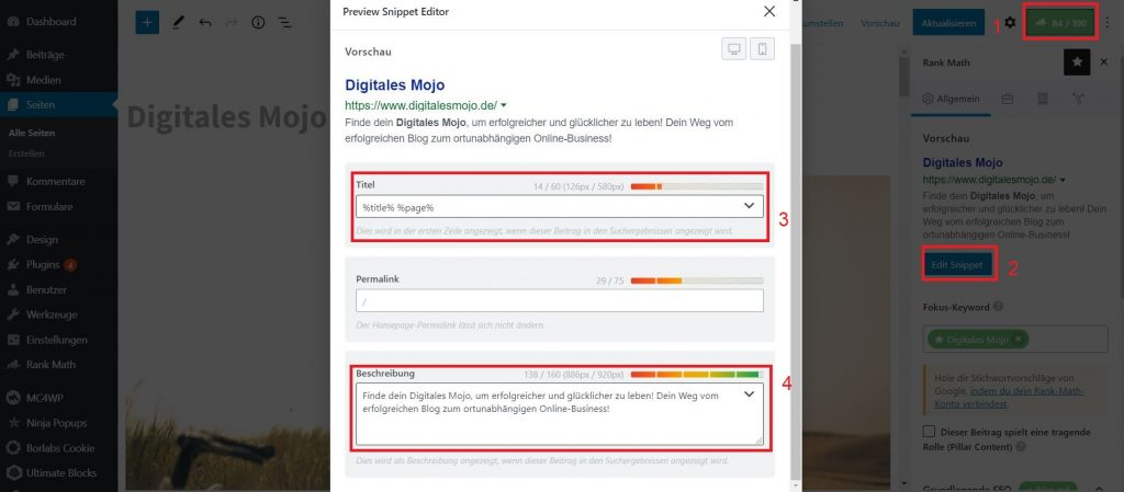 wordpress seo: wordpress seo tipps 2 1