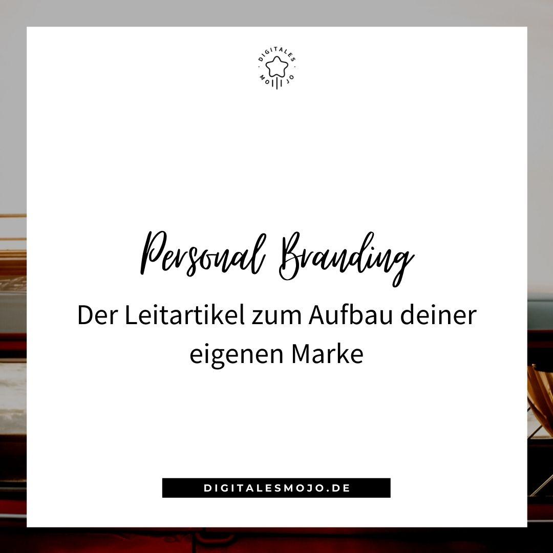 Personal Branding aufbauen